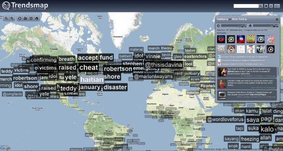 Trendsmap en temps réel