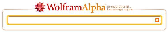 WolframAlpha moteur de calcul